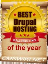 Miglior Drupal hosting dell'anno
